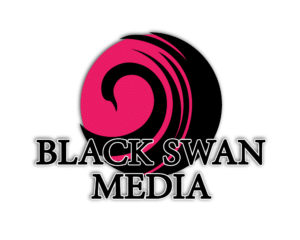 Black Swan Media Co Brand Logo
