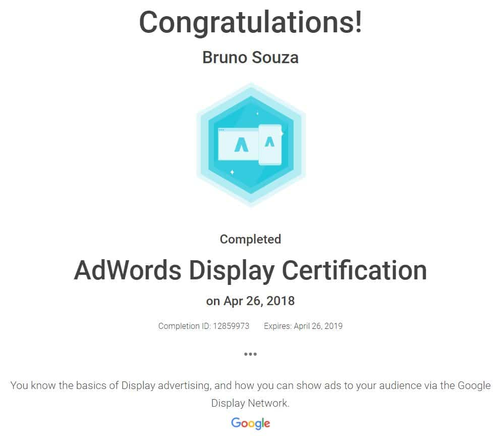 Black Swan Media Co Google Adwords Display Qualification