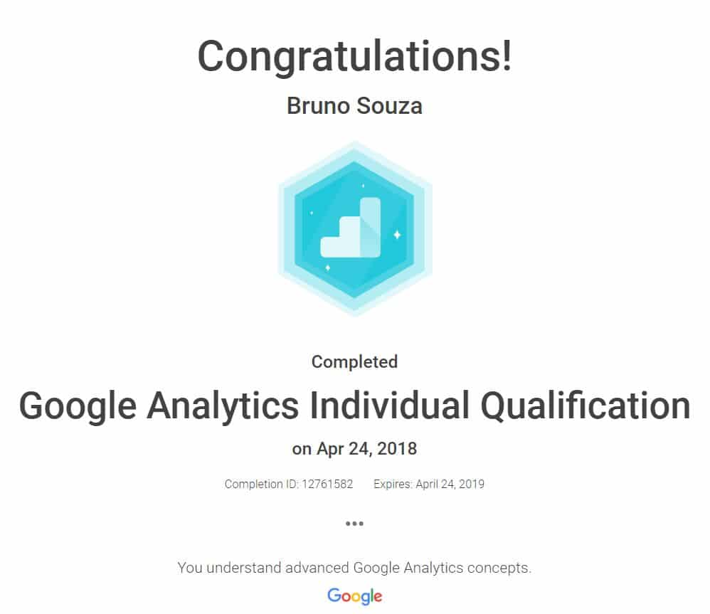 Black Swan Media Co Google Analytics Individual Qualification