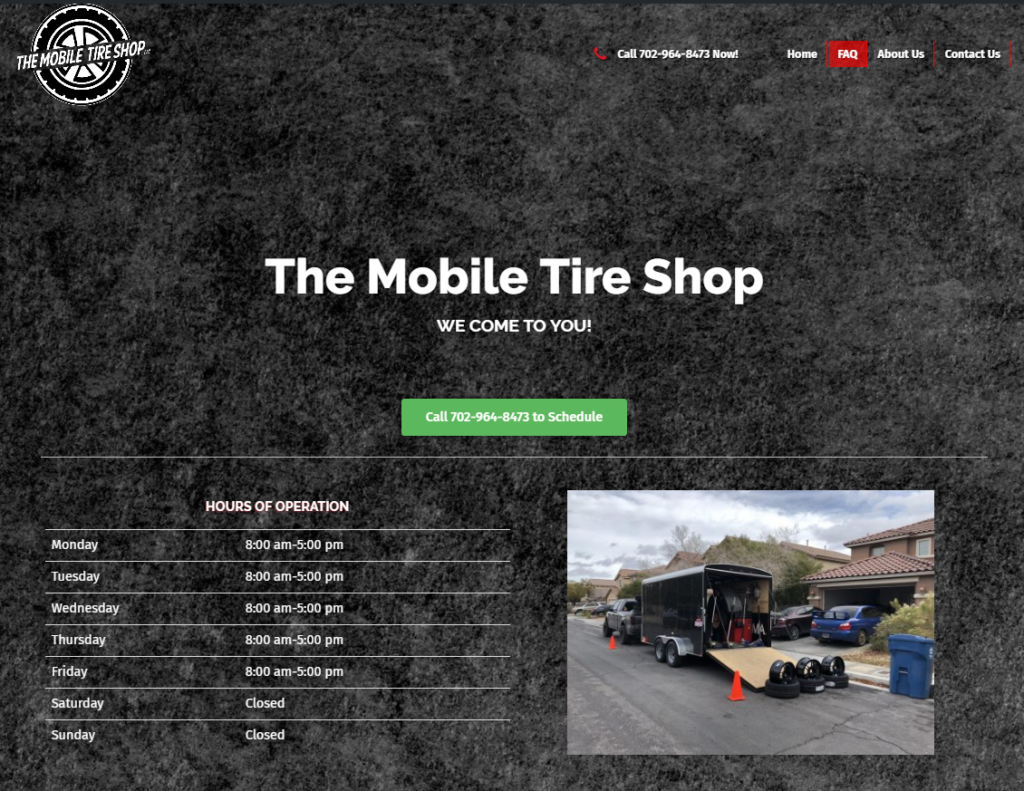 The Mobile Tire Shop